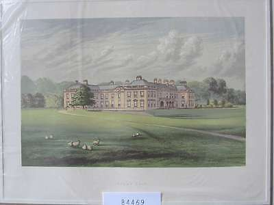 84469-GB-England-Great Britain-Holme Lacy-Herefordshire-Lithographie-Lithography