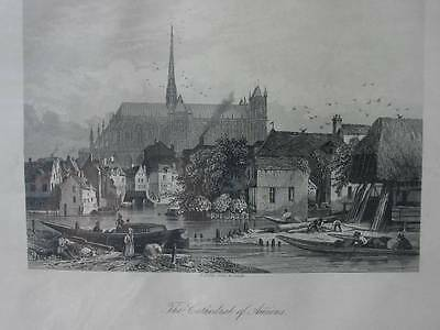 85749-Frankreich-France-Française-Amiens-Stahlstich-Steel engraving