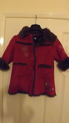 Girls Marks and Spencer AUTOGRAPH Coat Age (1 1/2 -2 Years)