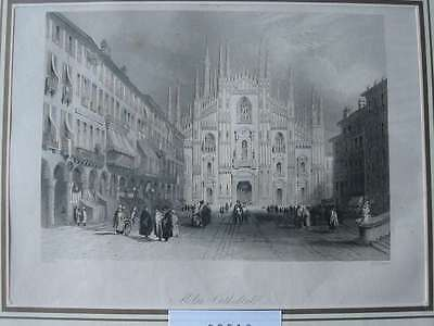 89510-Italien-Italy-Italia-Mailand-Milan-Milano-Stahlstich-Steel engraving