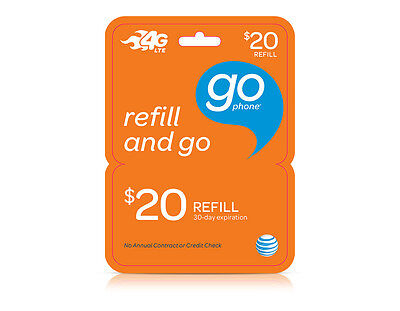 AT&T GoPhone $20 Refill