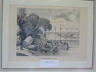 82379-Asien-Asia-China-Macao-Makao-T Holzstich-Wood engraving