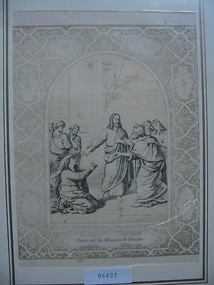 86627-Bibel-Bible-Jesus-Christ-Canaan-mit Ornament-Stahlstich-Steel engraving
