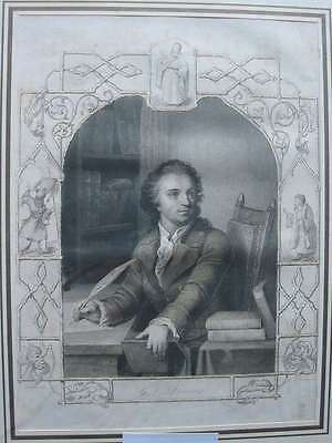 89680-Portraits-Lessing-Stahlstich-steel engraving