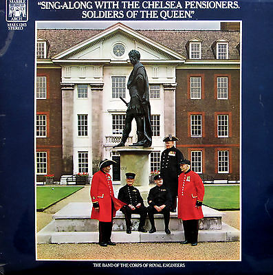Sing-Along With The Chelsea Pensioners 1970 Stereo Vinyl LP