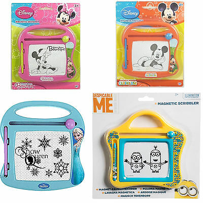 1 x Disney Minnie Mouse,Frozen Minions Magnetic Sketcher, Kids Scribbler Toy