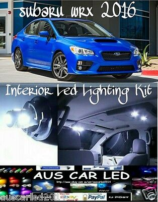 Subaru WRX 2016 Bright White LED Interior LIGHTING KIT / Package (6 Pieces)