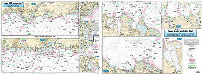 Fishing Map Coast of CT, North Shore of Long Island NLI106-BC N. Atlantic