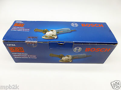 """Bosch 1375A 6.0AMP 4-1/2"""" Small Angle Grinder Brand New"""