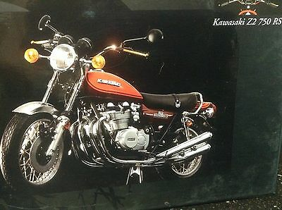 MINICHAMPS DIE CAST KAWASAKI Z2750 RS - 1972  Scale 1:12. NEW IN BOX