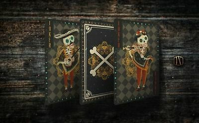 Fuego Day of the Dead Luna Edition Playing Cards Deck