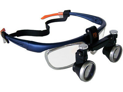 2.5X 420mm Dental Medical Loupe Surgical Binocular Loupes ENT Magnifying Glass