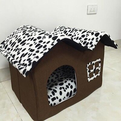 2016 Portable Luxury Pet Dog Cat Bed House Warm Mat Snug Puppy Bedding Home