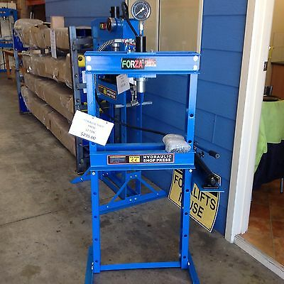 HYDRAULIC SHOP PRESS 12ton, NEW   @ DTM TRADING