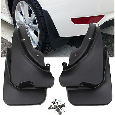 Fit 2008-2010 2009 Mercedes-Benz C-Class Mud Flap Flaps Splash Guards Front Rear