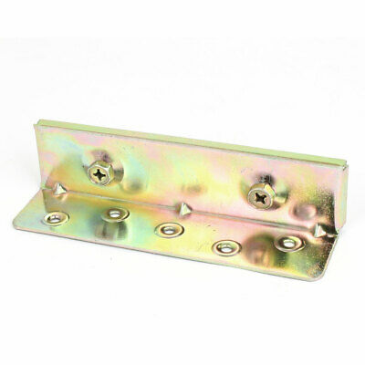 Zinc Coated Metal Invisible Bed Hinge Hanging Brackets 6 Inch Long