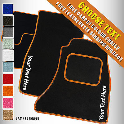 Kia Sedona ( - 2000) Tailored Carpet Car Mats + ADD TEXT [O]