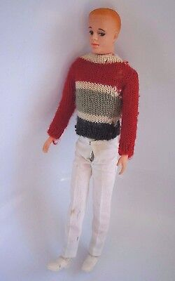 """Reduced Again!!! 1961 Vtg. Eegee """"andy"""" Doll With Clothes"""