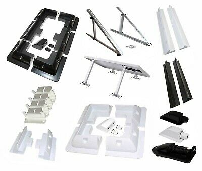 Solar Panel Mounting Bracket Sets & Frame Kits Adhesive Bond Caravan Boat