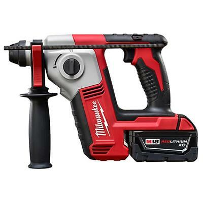 "Milwaukee 2612-21 M18 18V Cordless 5/8"" SDS-Plus Rotary Hammer Kit"