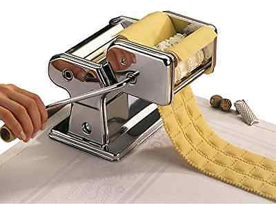 Ravioli Pasta Maker Cutter Homemade Kitchen Roller Stainless Steel C-Clamp Table