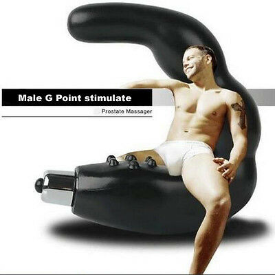 G Silicone Prostate Massager Vibrator Male Waterproof Personal Health NEW