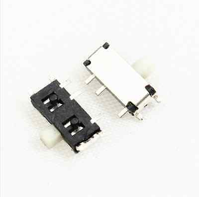 10 PCS Slide Power Off/On Panel PCB MINI SMD Switch SPM NEW
