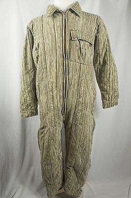 Trophy Club Camouflage Hunting Coverall Camo Size LARGE