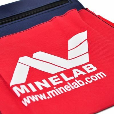 Minelab Tool & Finds Bag (Navy / Red)