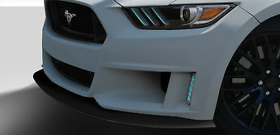 2015-2016 Ford Mustang Duraflex Grid Front Lip - 1 Piece Body Kit