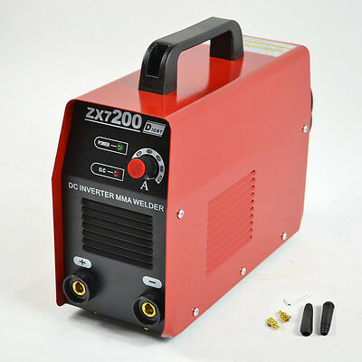 220V Igbt Zx7-200 Dc Inverter Mma Arc Welding Machine Aofeng  Fit Usa Use New