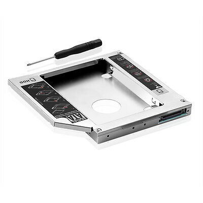 2nd HDD SSD Hard Drive Bay Caddy for Laptops (12.7mm) (SATA to IDE)