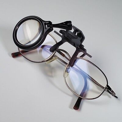 Lighthouse Clip-on Magnifier for glasses, 5x magnification, Leuchtturm, 326886