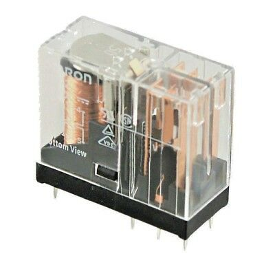 G2R-2-24VDC       Omron   DPDT DIN Rail Non-Latching Relay Plug In, 6 A, 24V dc