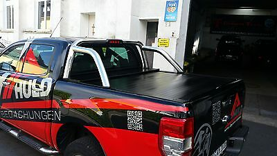 Ford Ranger T6 Double Cab / Laderaumabdeckung / Pickup Zubehör / Rollcover