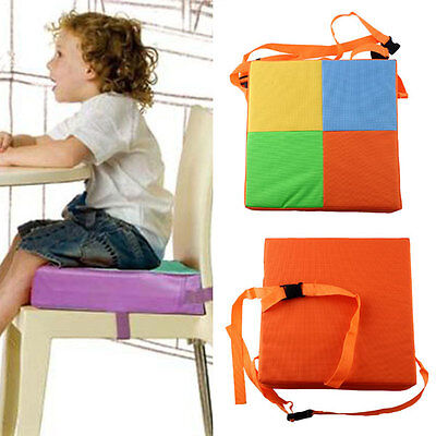 Kids Chair Booster Cushion Toddler Highchair Pad Chair Cover New Safe