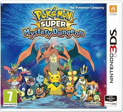 Pokemon Super Mystery Dungeon (3DS) Brand New & Sealed - UK PAL