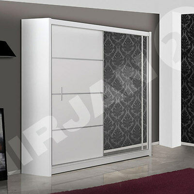 schrank kleiderschrank vista 180 cm schiebet r. Black Bedroom Furniture Sets. Home Design Ideas