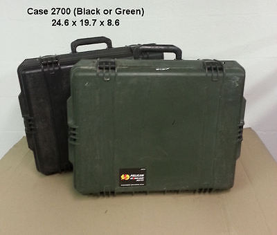 Pelican/Storm Case  #2700 - GREEN ONLY - 24.6x19.7x8.6