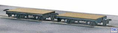 GR-300 Peco 009 Scale 4 Wheel Flat Wagon (Pack of 2)