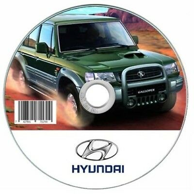 Hyundai Galloper  manuale officina - workshop manual
