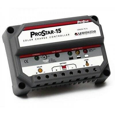 NEW Morningstar Prostar Charge Controller 12/24V 30A with Meter