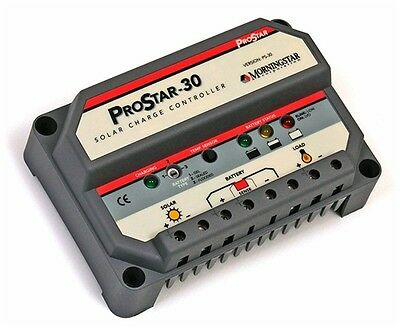NEW Morningstar Prostar Charge Controller 48V 15A Positive Ground