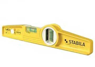 """Stabila 25010 10"""" Die-Cast Torpedo Level without Magnets (Type 81SM)"""