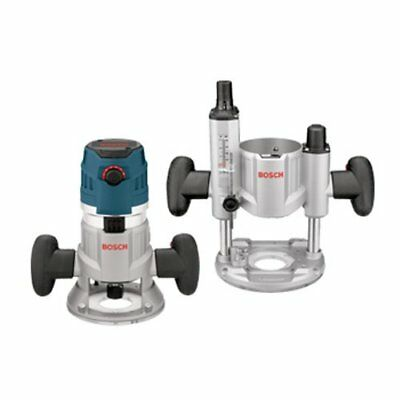 Bosch MRC23EVSK 2.3 HP Combination Plunge and Fixed-Base Router Pack