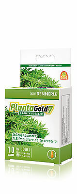Dennerle Plantagold 7 Enzyme Based Growth Booster for Aquarium Plants Iron 10pcs
