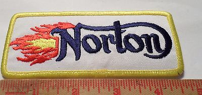 Vimtage 70s Norton patch collectible old British cycle emblem memorabilia