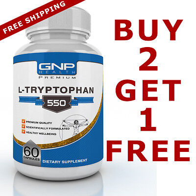 L-Tryptophan 60 tablets 500mg - Relaxation, Sleep Aid, Mood Enhancement