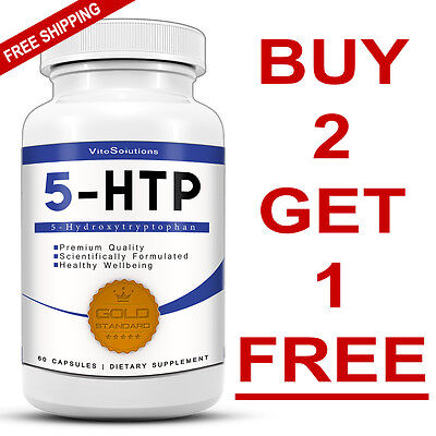 5-HTP 100mg - Anti-Depressant Mood Booster Sleep Support - Stress Relief - 5HTP