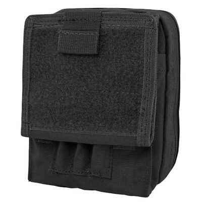 CONDOR MA35 MOLLE Tactical Map ID Admin Chart Pouch SWAT Black
